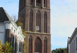 Toren Grote Kerk vooraanzicht Elburg