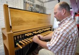 Katwijk aan zee Carillon klavier