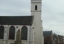 Katwijk aan zee toren WItte Kerkje